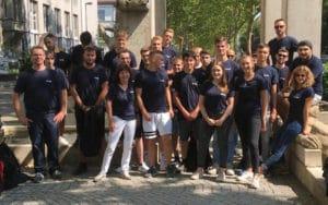 Team beim Ausbildungsworkshop am Bodensee