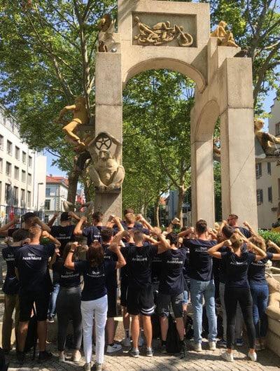 Team beim Ausbildungsworkshop in Konstanz