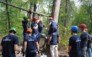 Teambuilding in der Einführungswoche